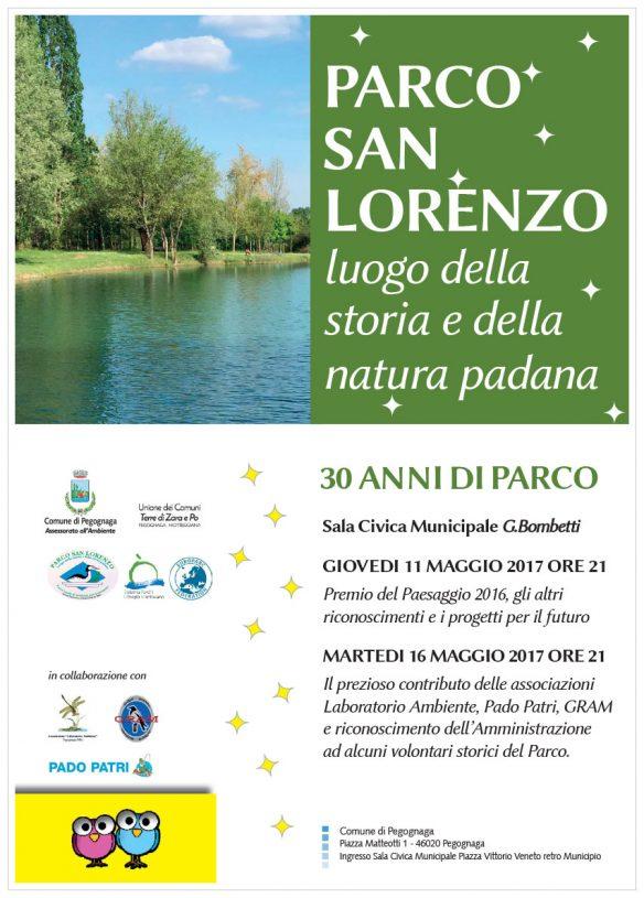 30 anni di Parco San Lorenzo - Pegognaga