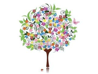 Alberi e fiori favolosi