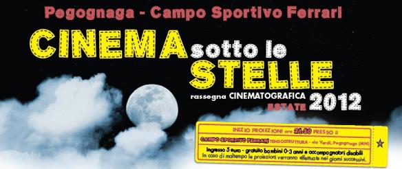 Cinema sotto le stelle 2012