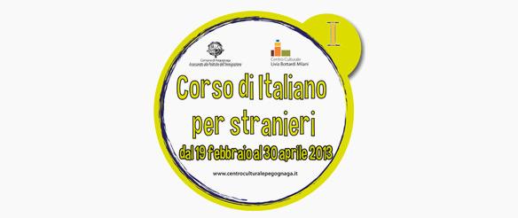 Corsi di lingua italiana per stranieri 2013