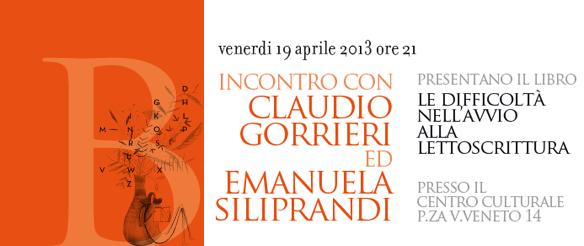 Incontri con gli autori: Gorrieri e Siliprandi