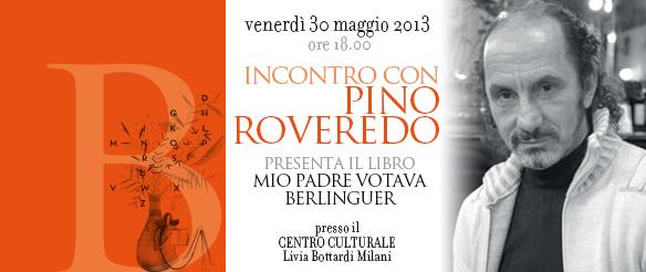 Incontri con gli autori: Pino Roveredo