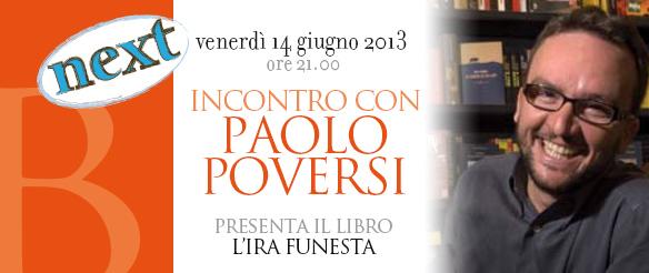 Incontri con gli autori next: Paolo Roversi