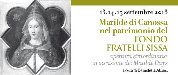 Matilde di Canossa nel patrimonio del Fondo Fratelli Sissa