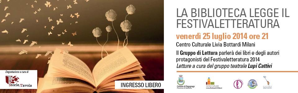 La Biblioteca legge il Festivaletteratura 2014