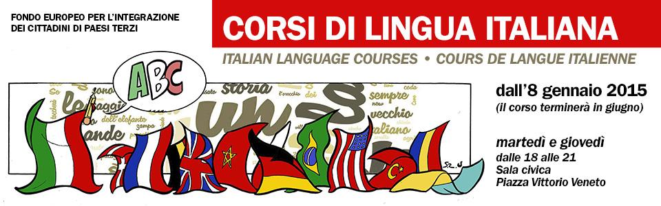 Corsi di lingua italiana per stranieri 2015