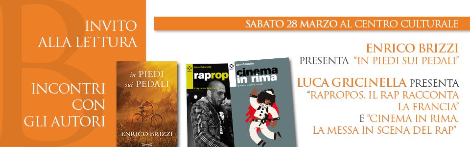 Invito alla lettura: 28 marzo al Centro Culturale
