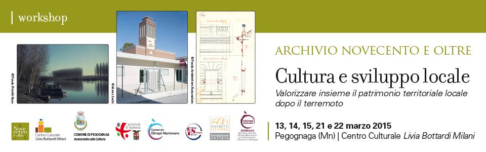 Cultura e sviluppo locale. Workshop