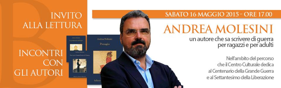 Incontri con gli autori - Andrea Molesini