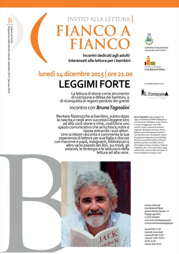 Fianco a Fianco: incontro con Bruno Tognolini