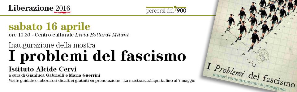 I problemi del fascismo