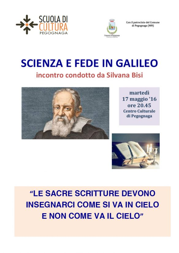 Scienza e fede in Galileo