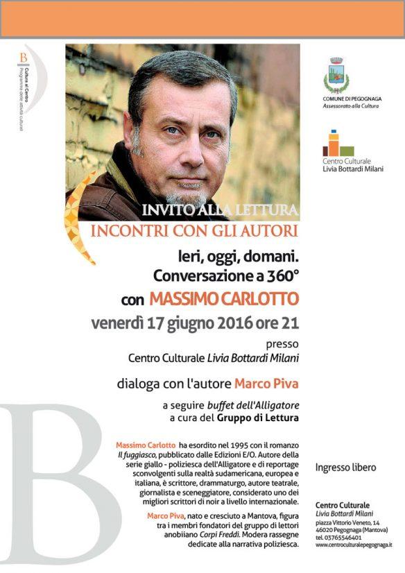Incontro Massimo Carlotto - 17 giugno 2016