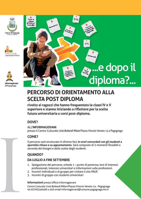 Percorso di orientamento alla scelta post diploma