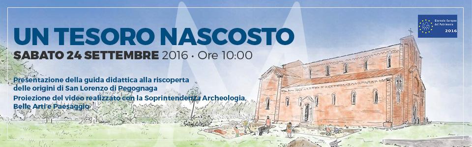 Un tesoro nascosto - Pegognaga - Giornate Europee del Patrimonio 2016