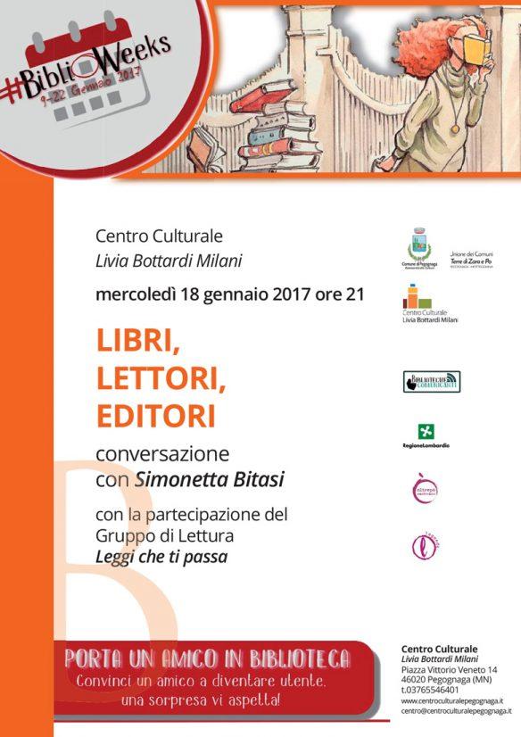 BiblioWeeks. Libri, lettori, editori - Conversazione con Simonetta Bitasi