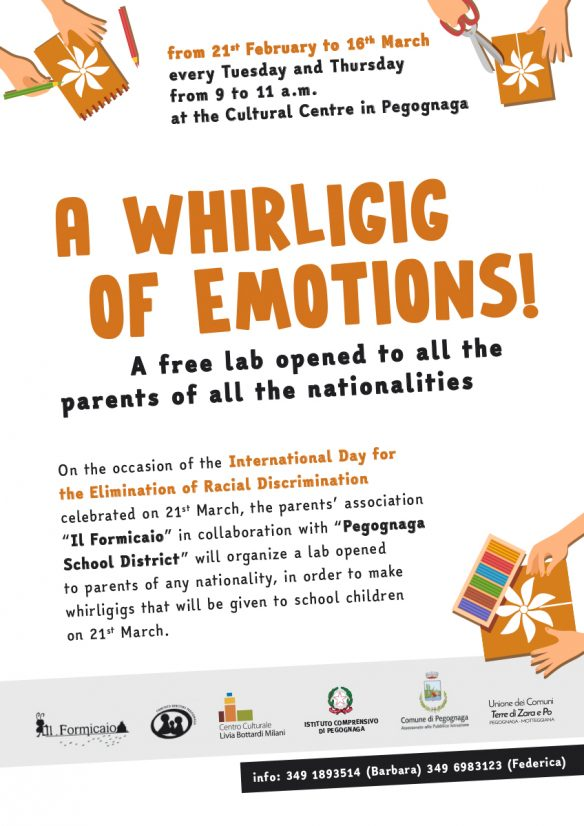 A whirligig of emotions!
