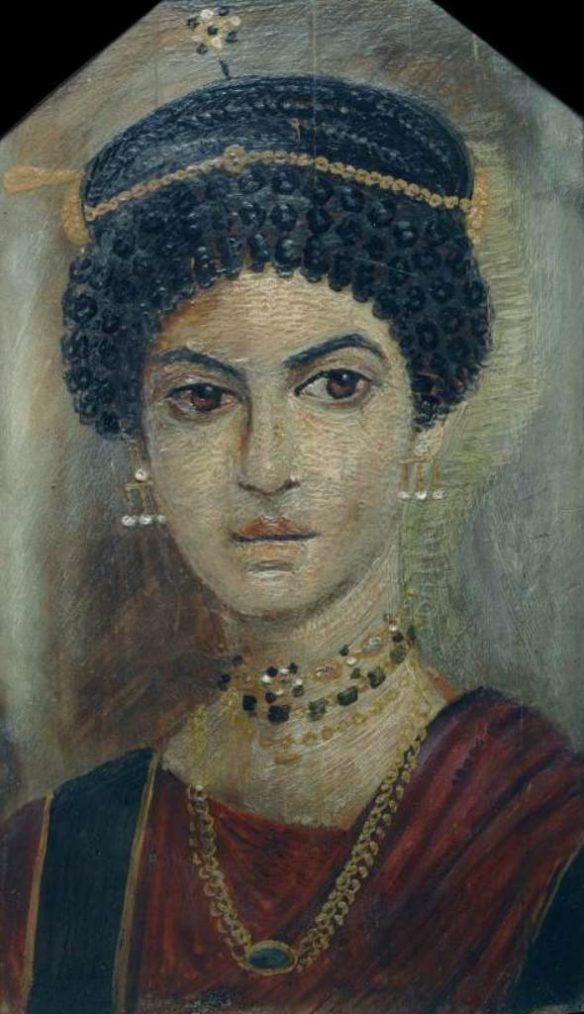 Le ragazze con gli orecchini di perla nell'antichità