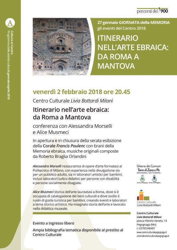 Itinerario nell'arte ebraica: da Roma a Mantova