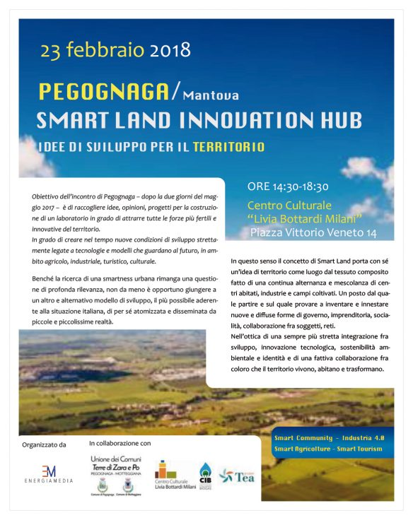 Smart Land Innovation Hub. Idee di sviluppo per il territorio