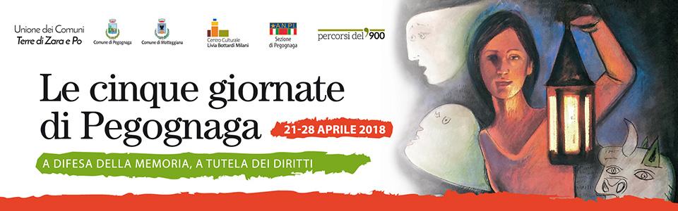Le cinque giornate di Pegognaga - 25 aprile 2018
