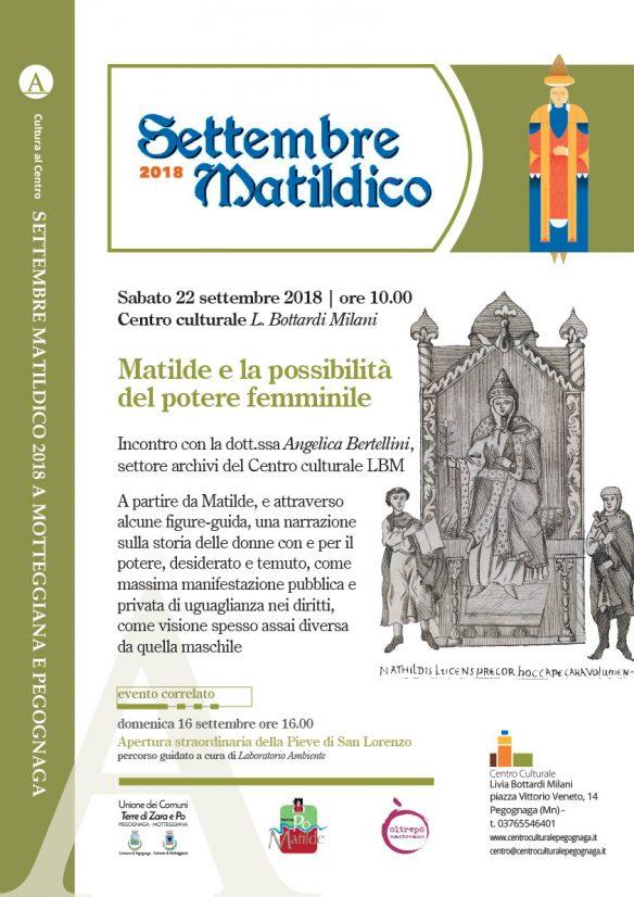 Matilde e la possibilità del potere femminile