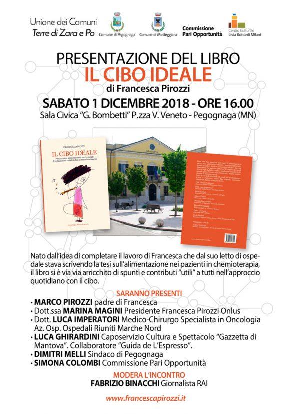 Presentazione del libro Il Cibo Ideale di Francesca Pirozzi