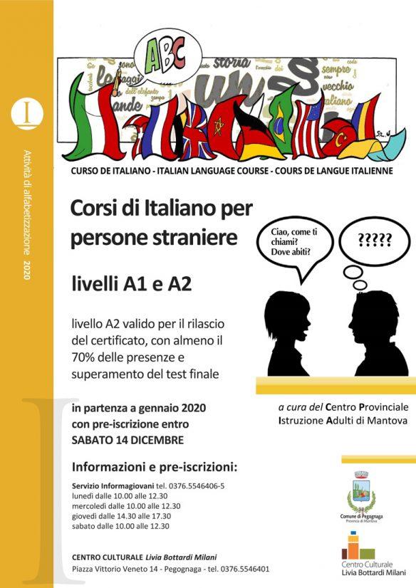 Corso di lingua italiana per persone straniere