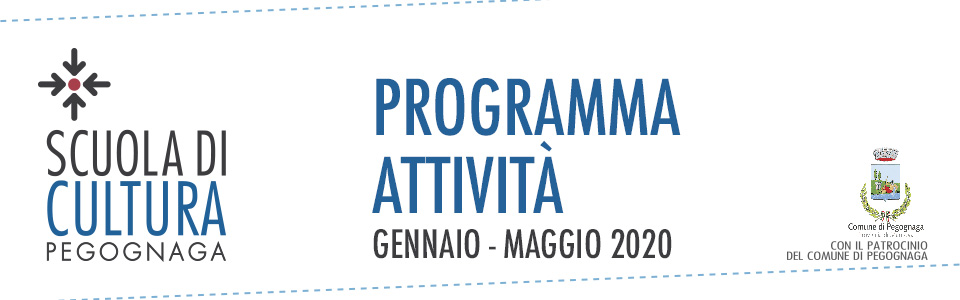 Scuola di Cultura. Programma attività gennaio-maggio 2020