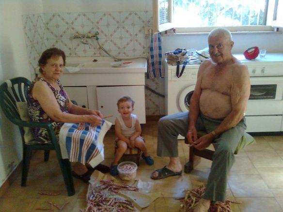 Nonna, nonno, quando sono con te…